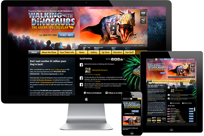 Walking with Dinosaurs Arena Spectacular